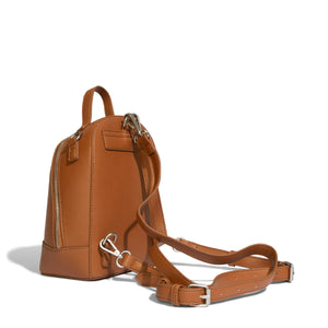 pixie mood cora backpack cognac small