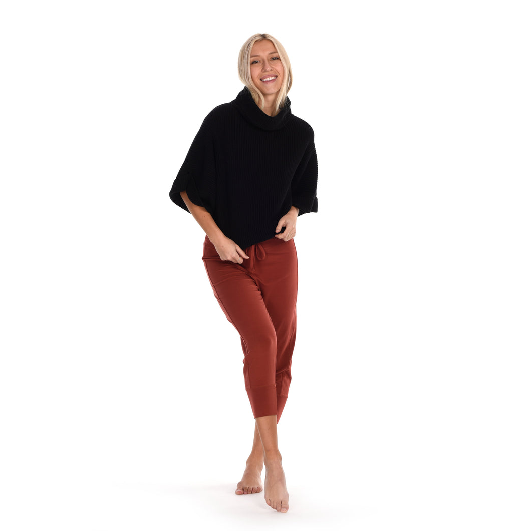 Paper Label Stella Cotton Crop Sweater - Harlow Crestwood