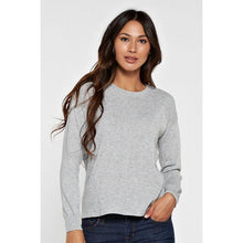 LS Crew Neck Sweater w/Back Slit-Harlow Crestwood