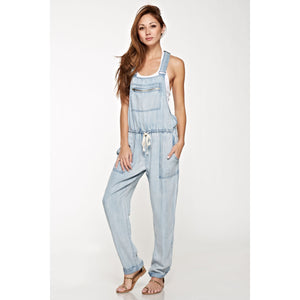 LS Tencel Overall - Reagan Wash