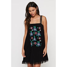 LS Embroidered Floral Tank Dress - Harlow Crestwood
