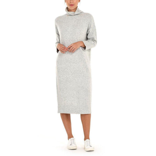 Paper Label Lydia Cozy-Knit Sweater Dress-Harlow Crestwood
