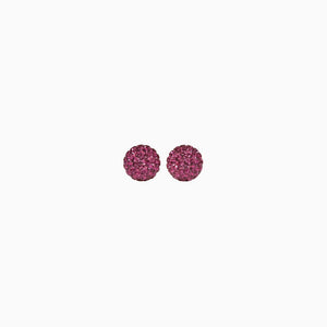 Hillberg & Berk Sparkle Ball Stud Earrings