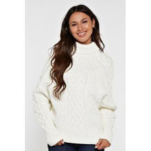 lovestitch cable knit sweater