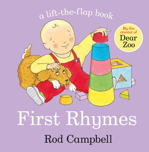 first rhymes lift the flap book