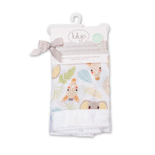 lulujo jungle safari security blanket