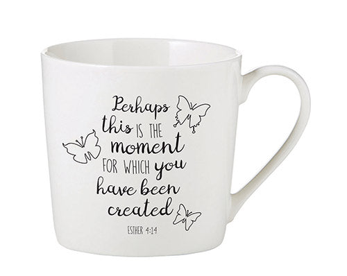 Inspirational Mug - Created for this Moment Mug - Esther 4:14