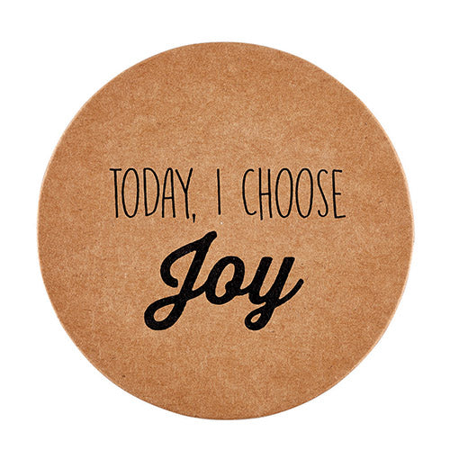 Inspirational Christian Coasters: Today I Choose Joy