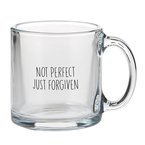 Inspirational Mug - Not Perfect Just Forgiven