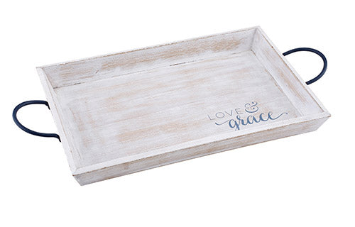 Tabletop Decor: Jewelry Tray - Love and Grace