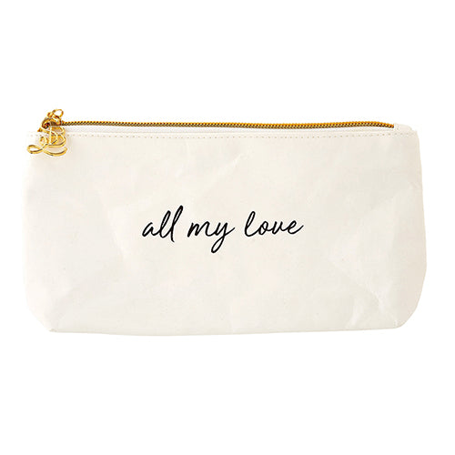 Accessories: Ladies Hand Pouch Purse - All My Love