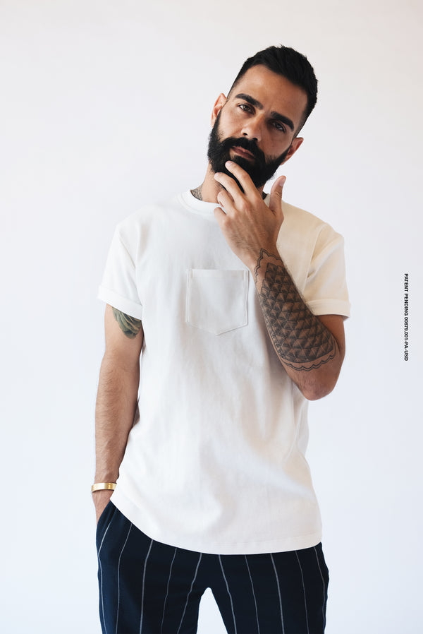 The Original Centered Pocket T-Shirt | White