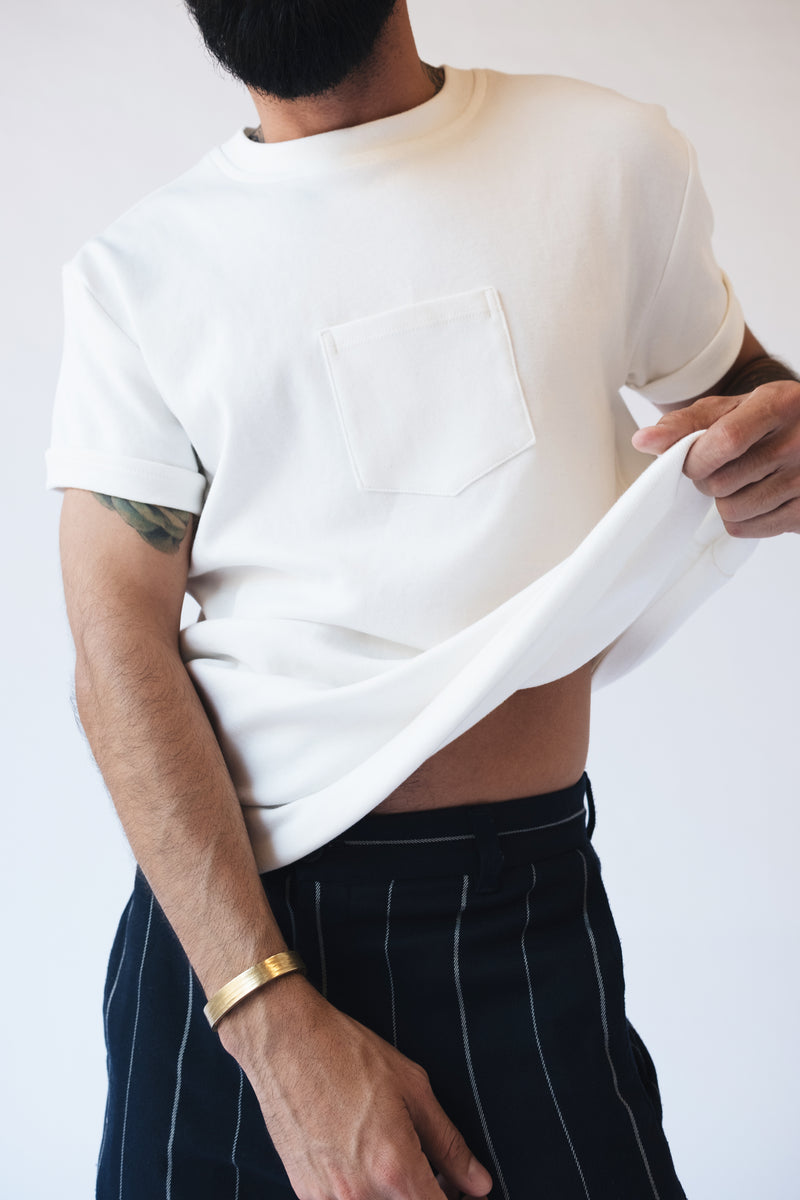 The-Original-Centered-Pocket-T-Shirt-Maison-Ogé-In-White