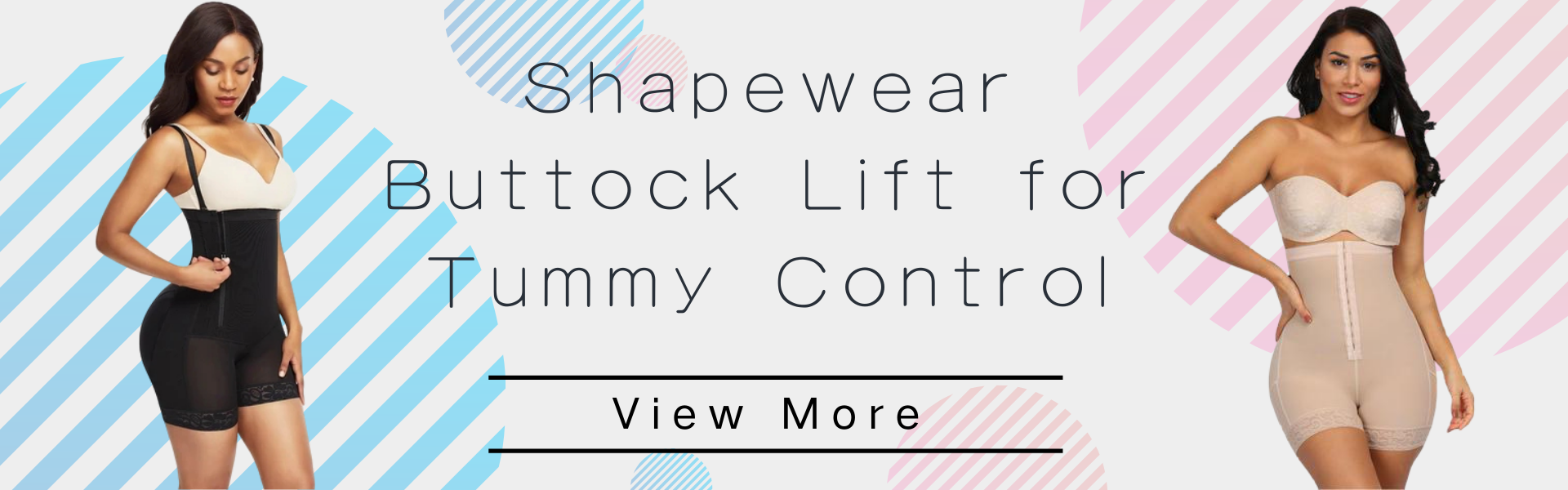 Shapewear Buttock Lift for Tummy Control