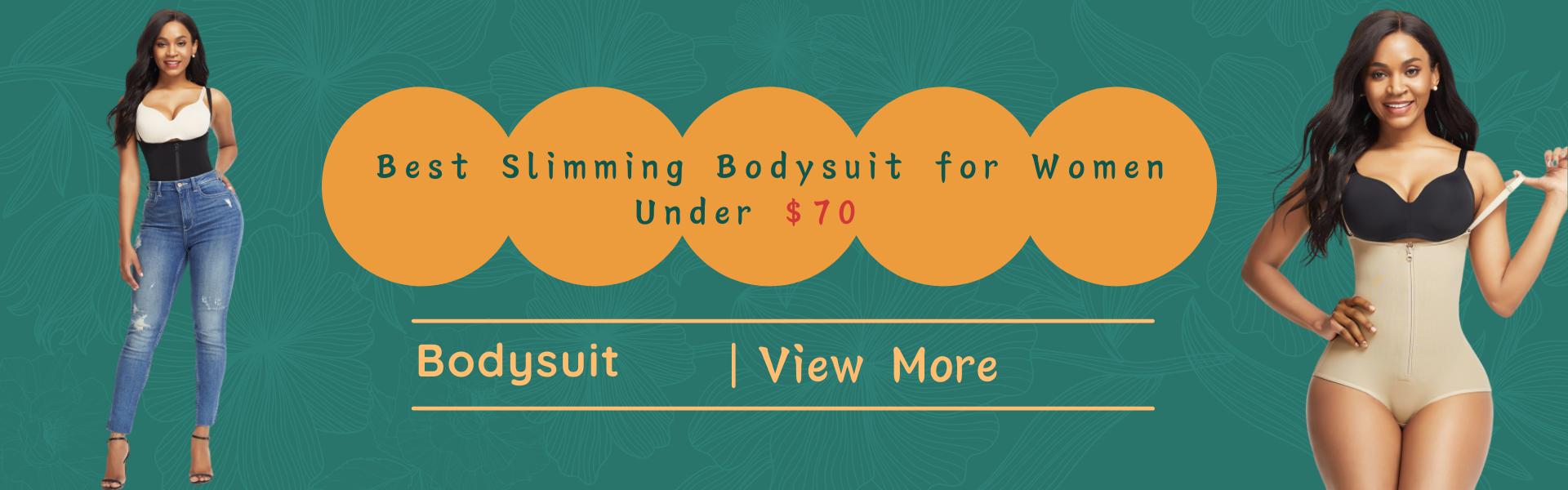 5 Best Slimming Bodysuit for Women Under $70