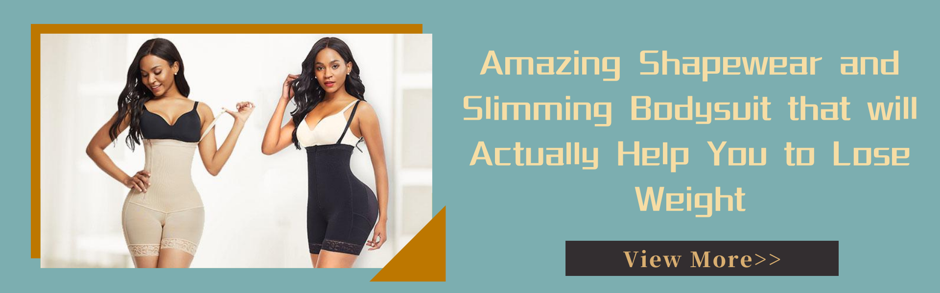 Amazing Shapewear and Slimming Bodysuit that will Actually Help You to Lose Weight