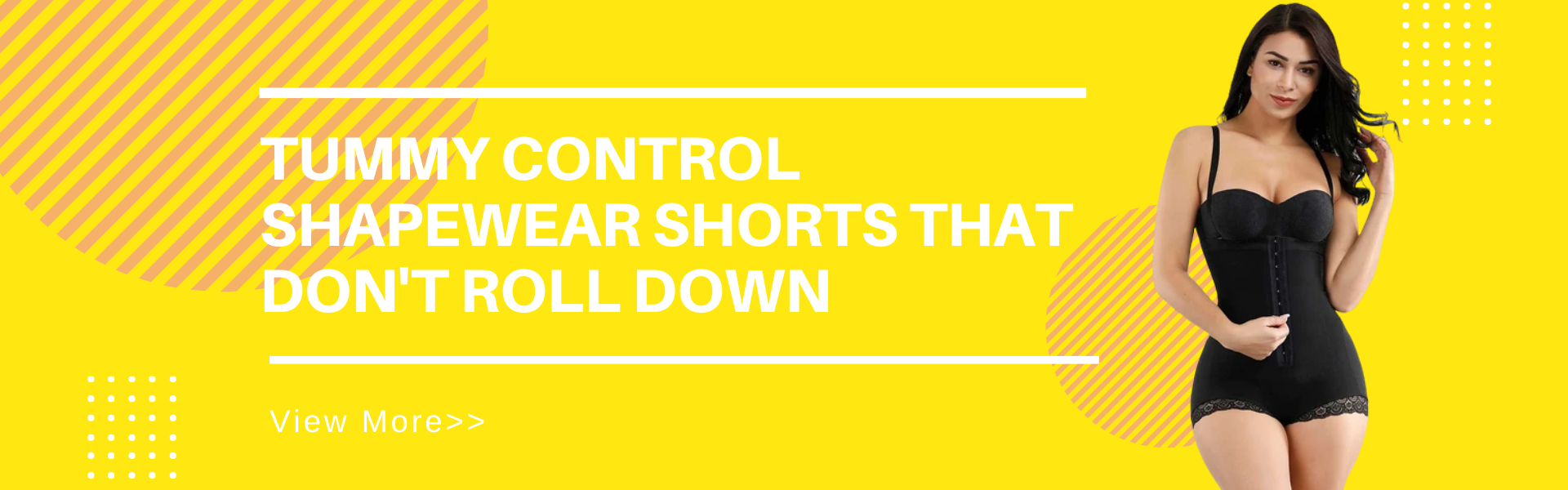 Tummy Control Shapewear Shorts that Don't Roll Down