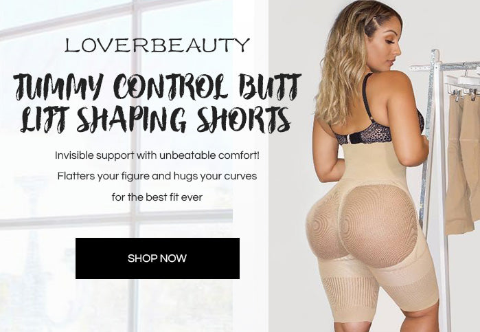 Loverbeauty Tummy Control Butt Lifter Shaping Shorts