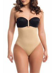 Nude Slimming Waist Shapewear Thong Loverbeauty