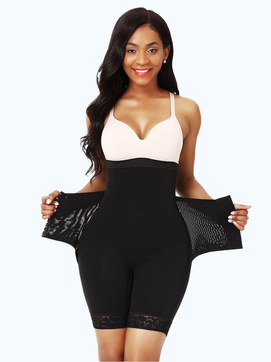 High-Waist Tummy Control Body Shaper