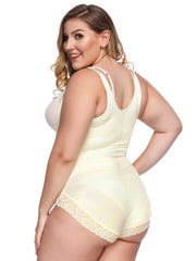 Loverbeauty Bodysuit Shaper Panty | Zip Up Slimming Shapewear - loverbeauty