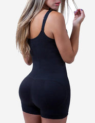 Loverbeauty Clip and Zip Waist Trainer Butt Lifter Shapewear - loverbeauty