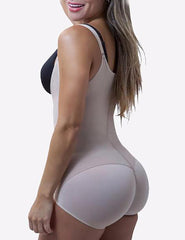 Loverbeauty Plus Size Shaperwear | Zip Up Bodysuit Underwear | Butt Enhancer Shaping Panty - loverbeauty
