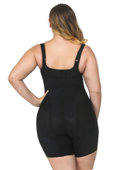 Plus Size Push Up Bodysuit Butt Enhancer Shapewear - loverbeauty