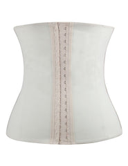 Women Plus Size Latex Waist Trainer Steel Bone Nude Loverbeauty