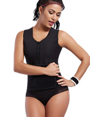 Waist Cincher Slimming Body Shapers Vest With Belt - loverbeauty