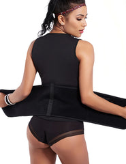 Women Waist Cincher Slimming Body Shapers Vest With Belt - loverbeauty