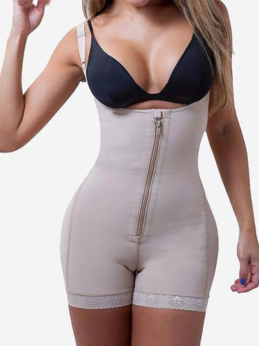 Clearance Sale Clip and Zip Waist Trainer Butt Lifter Shapewear - loverbeauty