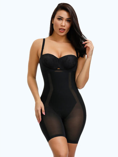 Loverbeauty Adjustable Straps Plus Size Shape Bodysuit
