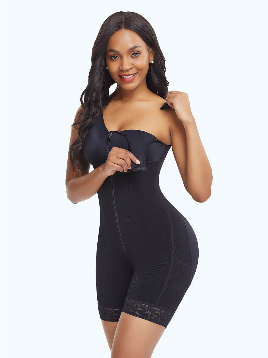 Full Bodysuit Zippered Slimming Shaper