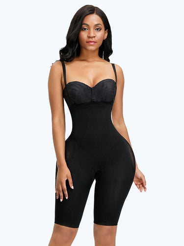 Loverbeauty Seamless Mesh Straps Body Shaper - loverbeauty