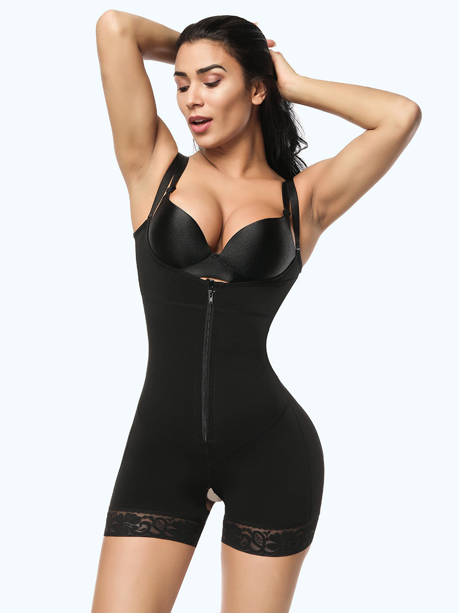 Plus Size Bodysuit Shapewear | Ultra Conceal Compression Shaping Bodysuit