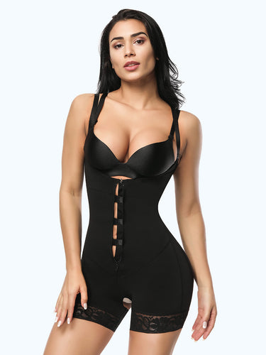 Loverbeauty Plus Size Bodysuit Shapewear | Ultra Conceal Compression Shaping Bodysuit - loverbeauty