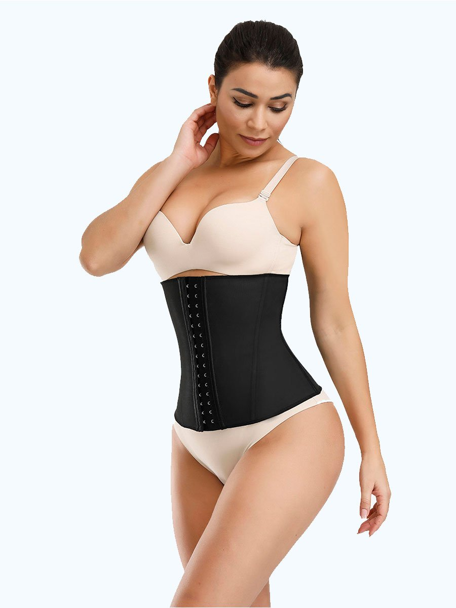 Steel Boned Latex Waist Cincher