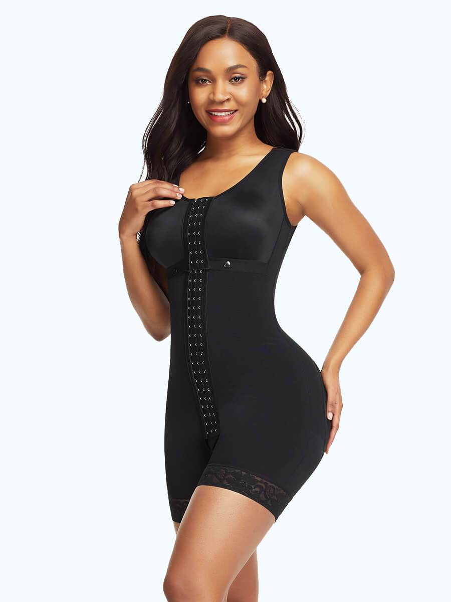 Full Bodysuit Slimming Shaper With Hooks