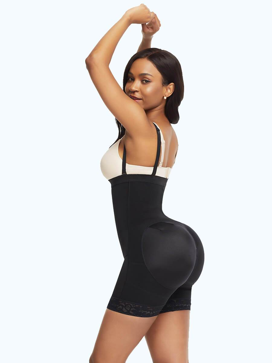 Postpartum Surgery Tummy Control Shapewear with Side Zipper