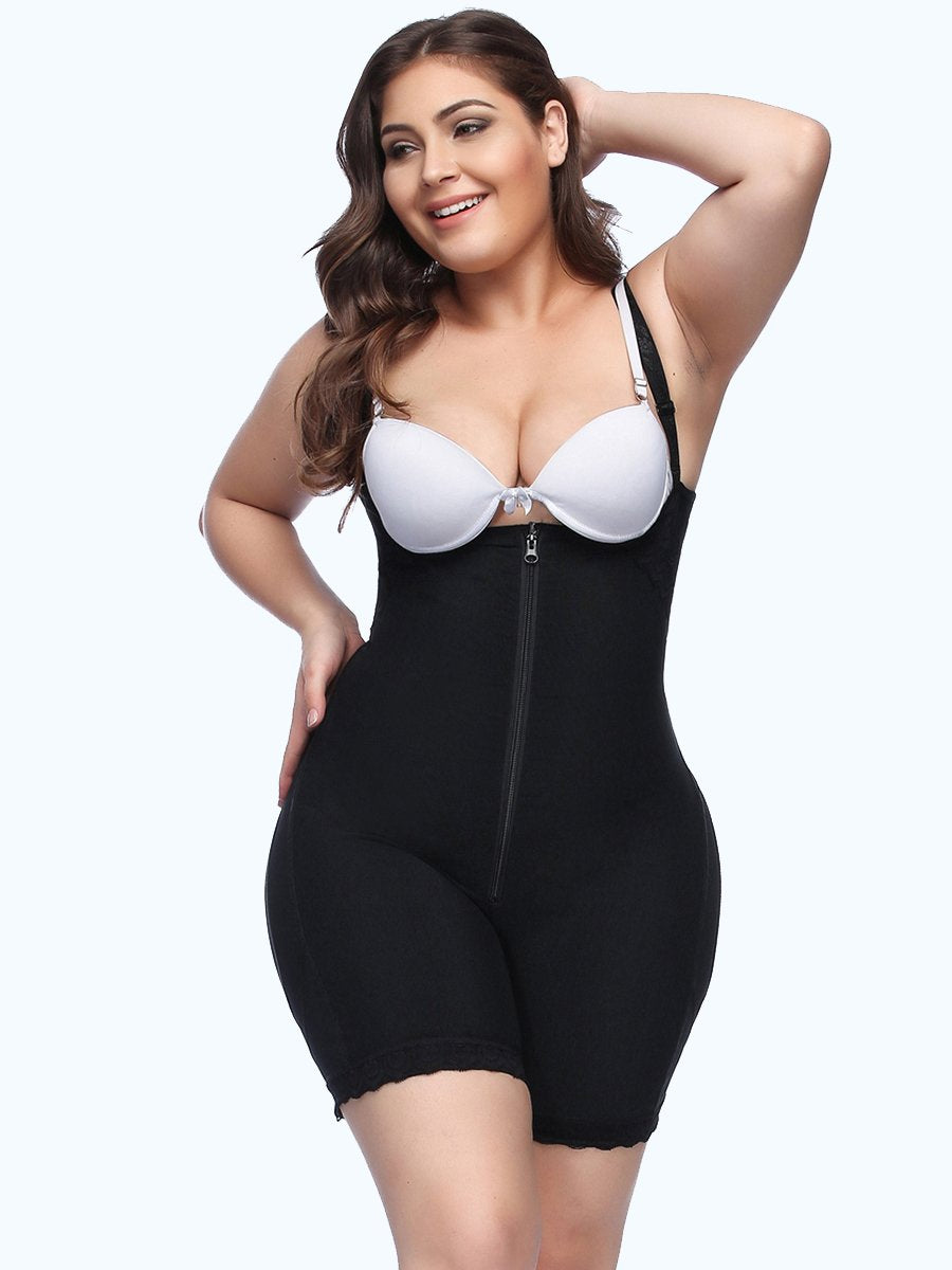 Plus Size Adjustable Straps Full Body Shaper