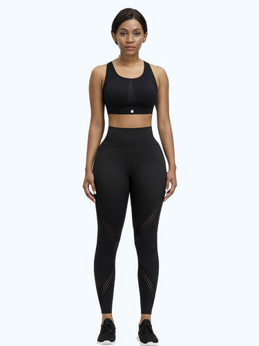 Loverbeauty 3D Print High Waisted Tummy Control Gym Leggings - loverbeauty