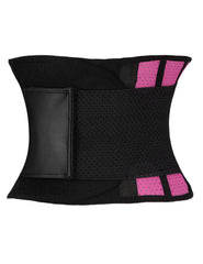 Latex Waist Cincher Belt Honeycomb Panel Working Out Loverbeauty