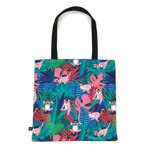 Lightweight Cute Colorful Canvas Tote Bag