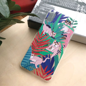 Forest Cat Dog Phone Case Mobile Case TPU PC Case