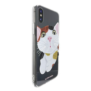 3 Colour Cat Phone Case Mobile Case Soft Clear Case