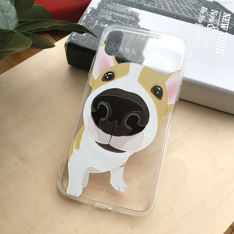 My Little Shoebox Welsh Corgi Cute Dog Phone Case soft clear TPU case iPhoneX Iphone8 Iphone7 Samsung s8
