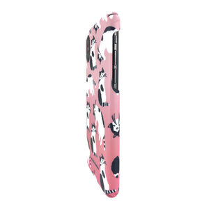 Pink Tuxedo Cute Cat Dog Phone Case Mobile Case PC Case