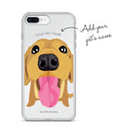 Customize your own unique Phone Case with your pet name