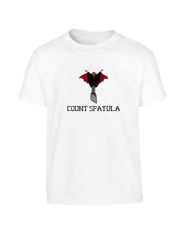 'COUNT SPATULA' Halloween T-Shirt (Unisex)